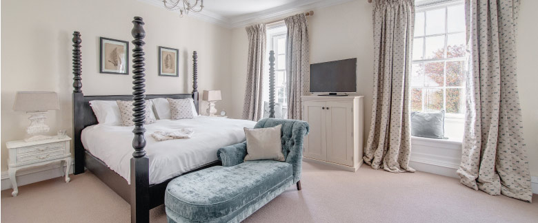 Kedleston Country House - Bedroom